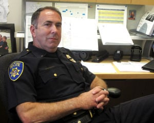 30-year Galt police veteran Lt. Brian Vizzusi hopes to keep officers fit