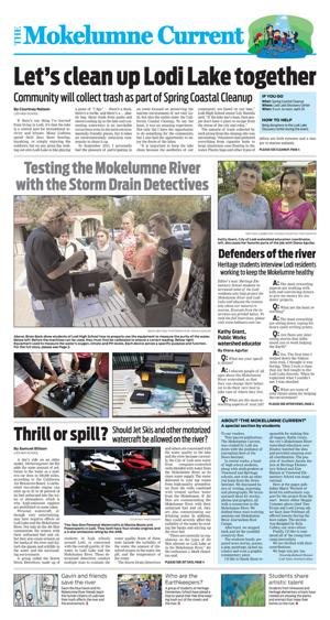 The Mokelumne Current: A special section by students