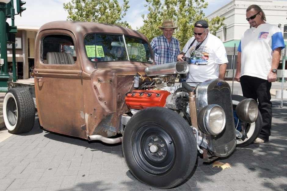 Stuck in Lodi Car Show