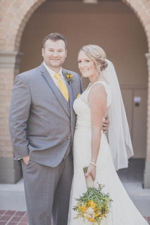 Kyle Collins and Natalie Schallberger married in May at St. Anne's Catholic Church