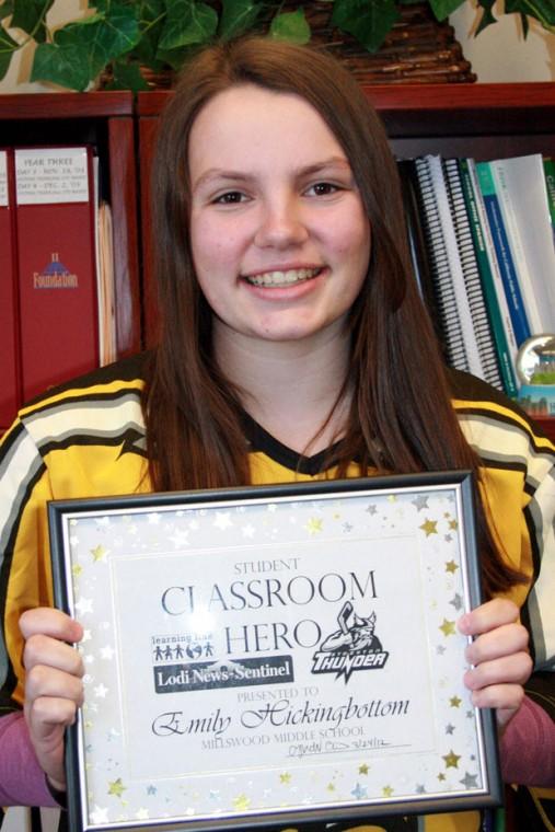 Millswood Middle School Classroom Heroes