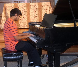 Youths show off their talent at music recital