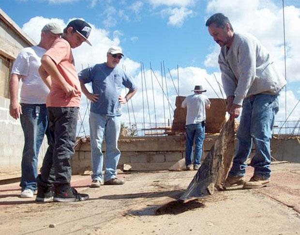Group from Cornerstone Church in Lodi visits Mexico to help the poor