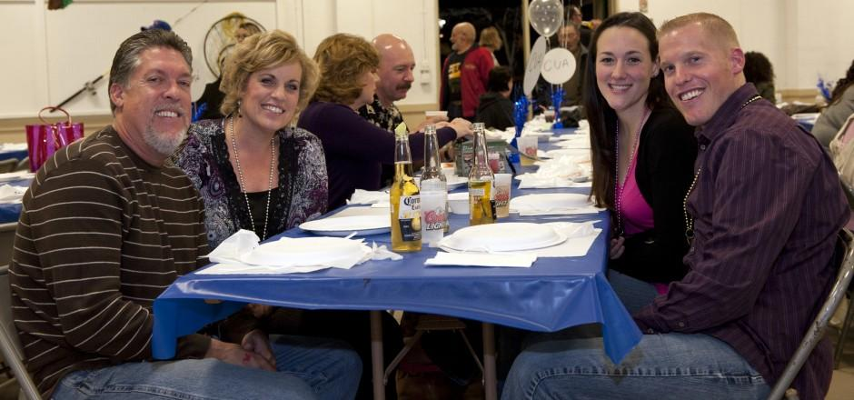 Boosters of Boys and Girls Sports Jerry Burns crab feed