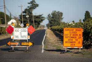 Sargent Road in Lodi to be closed for installation of roundabout