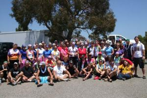 Galt church group cycles for charity