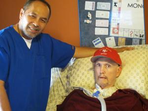 Nurse saves Lodi man with ALS after van catches fire
