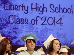Liberty High School's graduating class: They are the champions