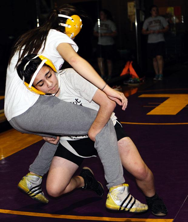 Tokay Tigers girls wrestling team makes its mark on the mat