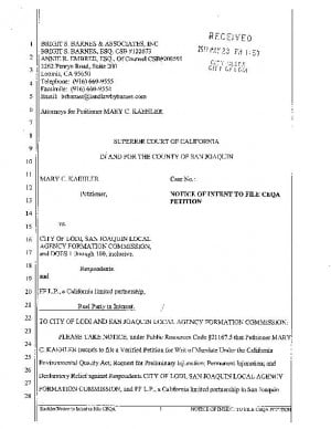 Kaehler lawsuit