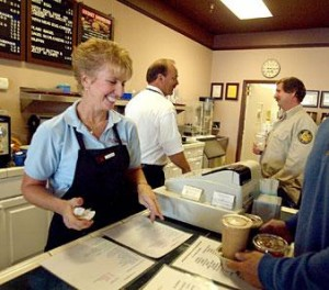 Customers are made to feel like number one at Coffees, Etc.