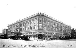 Hotel Lodi begins to take shape in October 1914