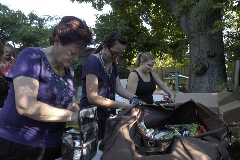 Tara Phillips' Totes for Troops project is a total success