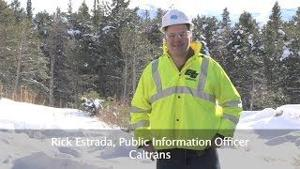 Caltrans News Flash 2015-3 - Avalanche Crews Keep Mountain Roads Safe
