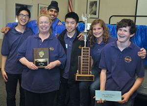 Team from Tokay High School will compete at National Science Bowl in Washington, D.C.
