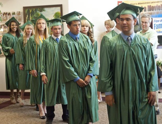 Jim Elliot Christian High School graduation