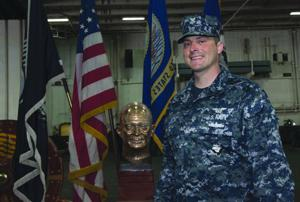 Lodi native serves aboard Navy aircraft carrier