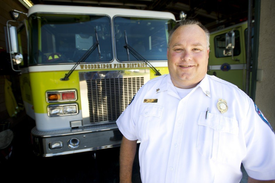 Stephen Butler feels comfortable as Woodbridge fire chief