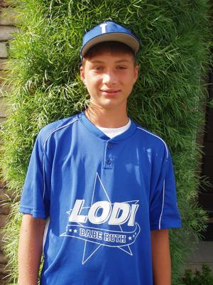 Lodi's Sam Bettencourt perfect at the plate for Lodi 13s All-Star baseball team
