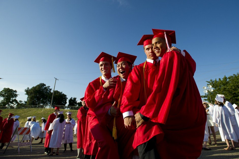 Lodi High School graduation