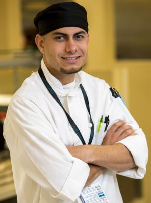 Josh McCullouch shares behind-the-scenes cooking at Lodi Memorial Hospital