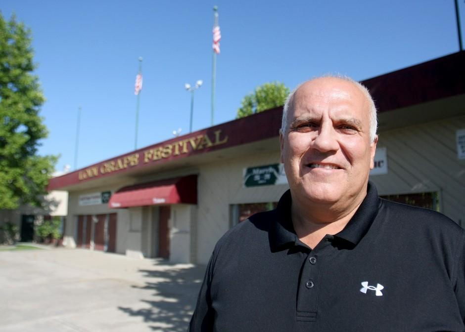 Lodi Hall of Fame honors Grape Festival's Mark Armstrong for support of local agriculture