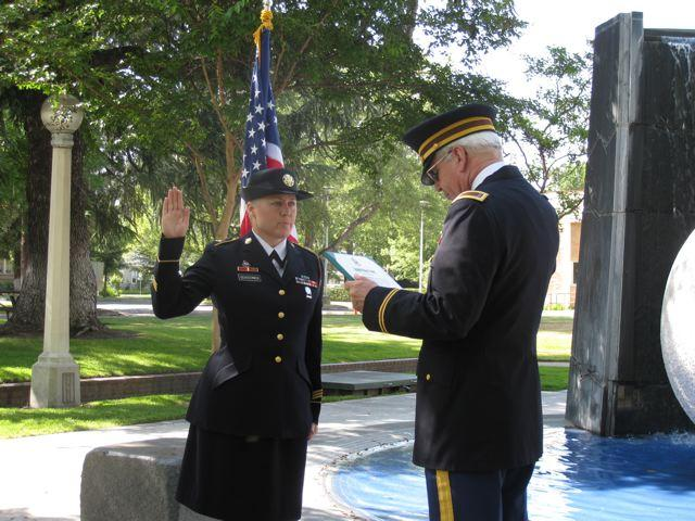 Tokay High Grad Comes Home to Reenlist