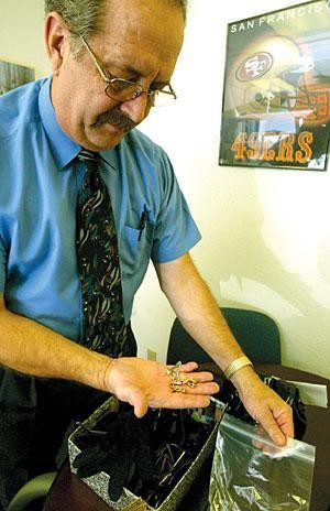 From brass knuckles to a diamond ring, the county's lost and found has it all