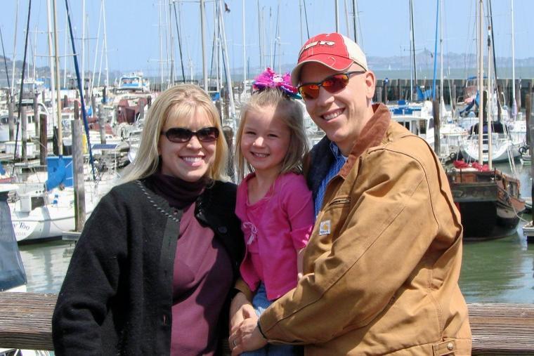 Family in San Francisco.