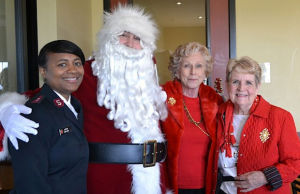 Soroptimists host Christmas party for Hope Harbor