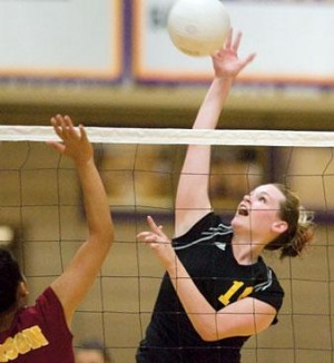 Tigers a perfect 10 in volleyball