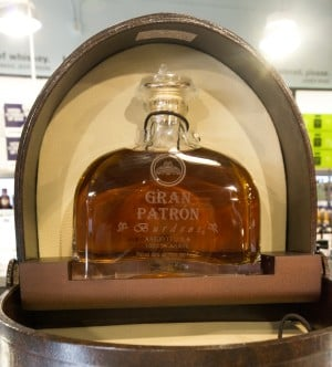 BevMo! Opens In Lodi: Gran Patrón Burdeos (the most expensive bottle in the Lodi BevMo! store)$449.99  - Photo by Dan Evans/News-Sentinel