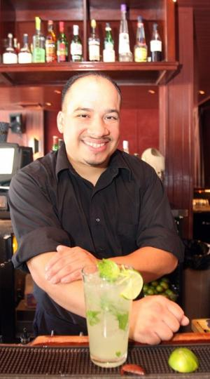 Drew Reyes, beverage manager of Rosewood Bar & Grill