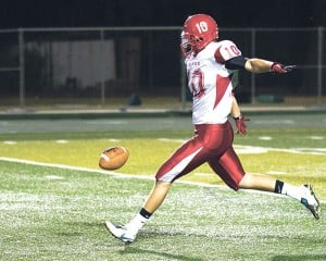 Lodi High School senior Jeff Dickerson one of the top-ranked punters in the nation