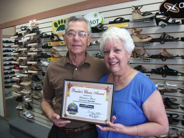 Burton's Shoes Readers Choice Award