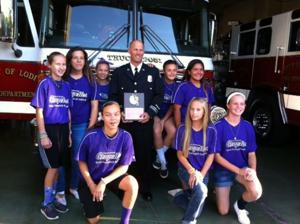 Lodi fire captain honored as Firefighter of the Year after saving man's life