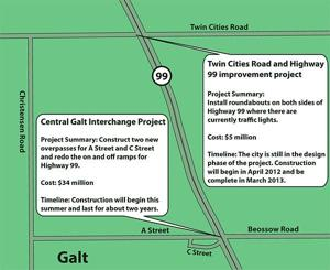 Galt residents share concerns, get answers on roundabouts