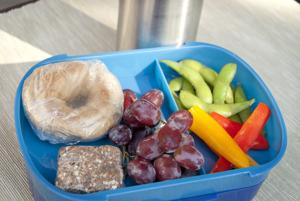 Plan ahead and involve the family for school lunch preparation