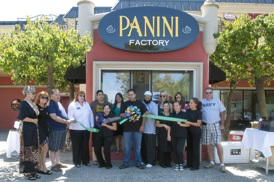 Panini Factory celebrates opening with ribbon cutting ceremony