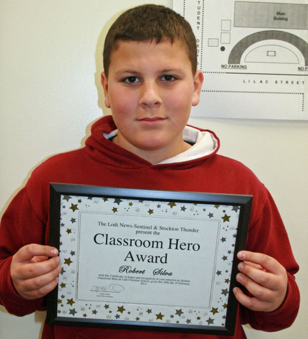 Woodbridge Elementary School names Classroom Heroes