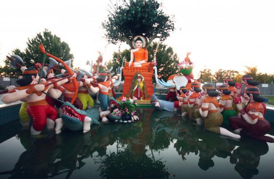 Daytripper: View more than 90 colorful statues at Stockton's Cambodian Buddhist Temple