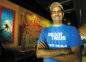 Fish tacos, jumbo burritos and Baja styling at Taco Del Mar
