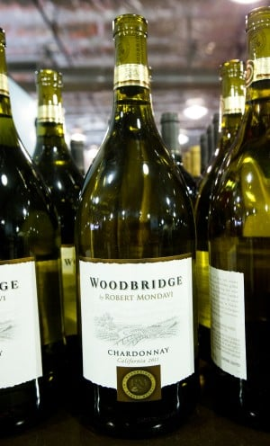 BevMo! Opens In Lodi: Wood-bridge by Robert Mondavi Chardonnay: $10.99  - Photo by Dan Evans/News-Sentinel
