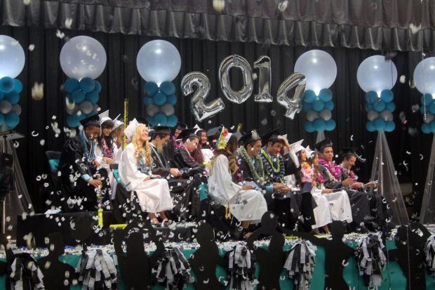 Lodi Academy graduates make a grand exit from high school