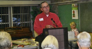 Tom Hoffman was speaker at AAUW
