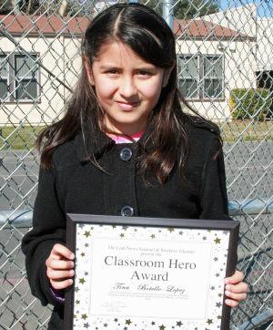 Woodbridge Elementary School names Classroom Heroes