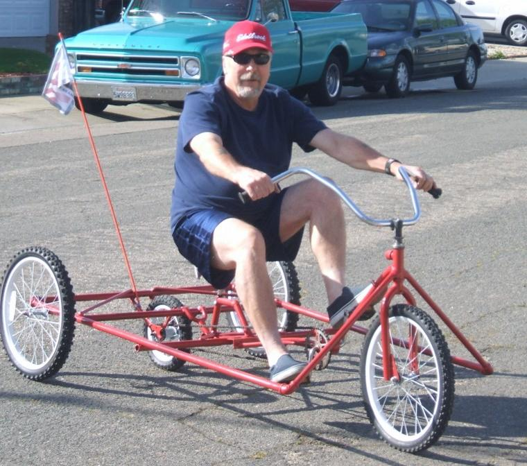 Jerry's New Ride
