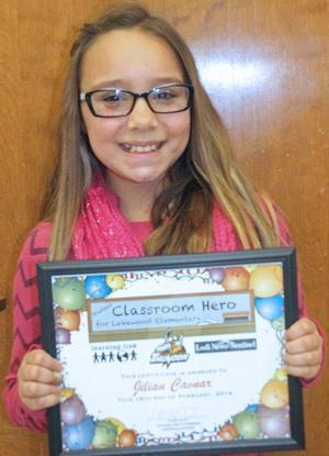 Lakewood Elementary School Classroom Heroes
