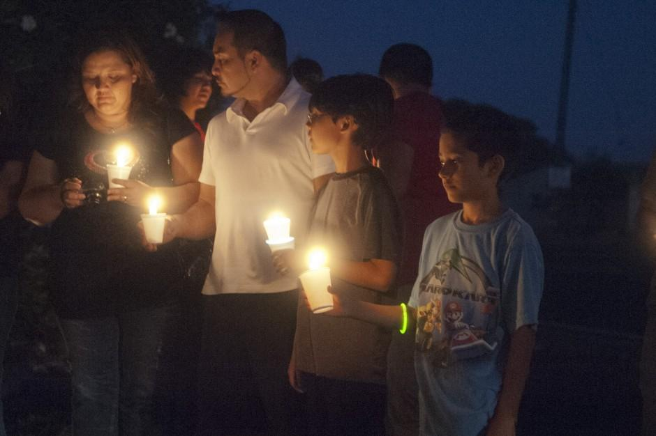 Candlelight vigil held for Honor Farm escapee