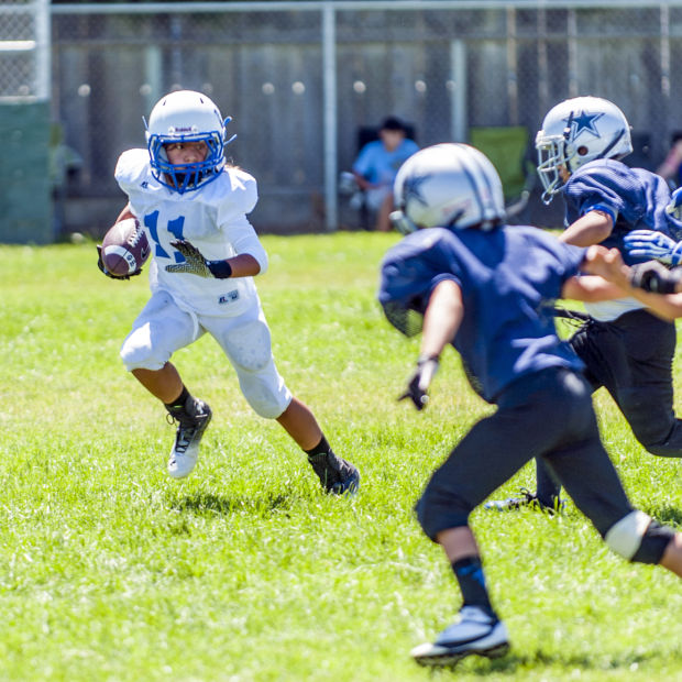 Lodi Junior Flames host youth football jamboree